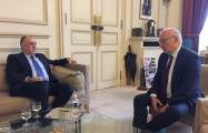 Azerbaijani FM briefs Macron's adviser on Nagorno-Karabakh negotiations