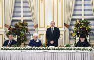 Azerbaijani people will never reconcile with Armenian occupation - President
