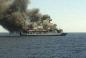 Cargo ship on fire near Spain's Mallorca, crew being evacuated