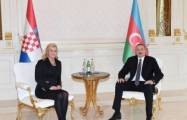 Azerbaijani president sends congratulatory letter to his Croatian counterpart
