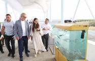 Heydar Aliyev Foundation VP attends ceremony to release sturgeon fry grown in Neftchala into Caspian