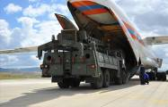 Russian S-400 defense components arrive in Turkey -   VIDEO