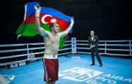 Azerbaijani boxer wins in first fight in New York