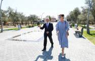 First Vice-President Mehriban Aliyeva visits Kurdakhani district -  PHOTOS