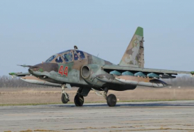 Su-25 Jet crashes in Russia's Stavropol region