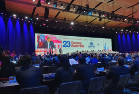 Azerbaijani delegation attends 23rd session of UNWTO General Assembly