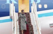 Azerbaijan's First VP Mehriban Aliyeva arrives in Russia for official visit