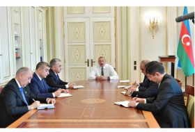 Ilham Aliyev receives newly appointed heads of Shirvan City, Zardab, Surakhani, Yasamal, Khatai District Executive Authorities