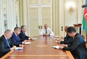 President Ilham Aliyev receives newly appointed heads of EPs -   URGENT