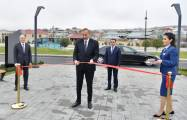 "President Ilham Aliyev attends opening of ""ASAN Həyat"" complex in Shamakhil"