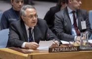 Azerbaijan's rep to UN talks on Armenia's policy of genocide against Azerbaijanis
