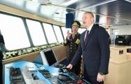 President Ilham Aliyev attends ceremony to launch 'Lachin
