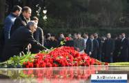 Azerbaijani public reveres memory of great leader Heydar Aliyev -   PHOTOS