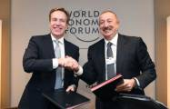 Regional centre of WEF to be created in Azerbaijan- PHOTOS