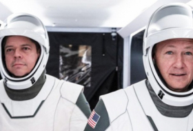 SpaceX is about to launch a historic mission with actual people on board crew dragon