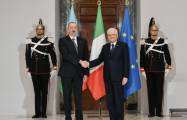 Official welcome ceremony held for President Ilham Aliyev in Rome