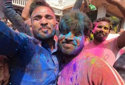 Holi festivities go ahead despite caution from PM Modi over COVID-19 -  NO COMMENT