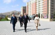 President Ilham Aliyev inaugurates Gobu Park-3 residential complex for IDPs