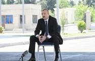 Azerbaijan is at the highest peak, says Ilham Aliyev