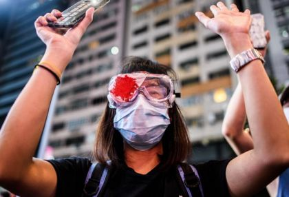 Hong Kongers sing protest anthem one year after major clashes -   NO COMMENT