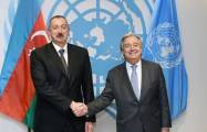 UN chief expresses support for Azerbaijani president's initiative