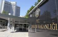 Turkish Foreign Ministry supports Azerbaijan