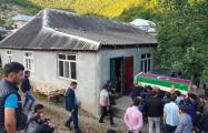 Azerbaijani soldier martyred in Armenian provocation laid to rest