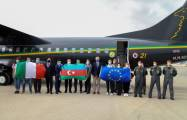 EU support team of Italian doctors arrive in Azerbaijan - PHOTOS