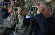Heads of Defense Ministries of Azerbaijan and Turkey observe joint flight-tactical exercises -  PHOTOS