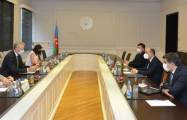 Minister of Education meets with Head of the EU Delegation to Azerbaijan