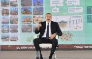 Azerbaijani President: It is a crime to bring people to the occupied territories and settle them there illegally