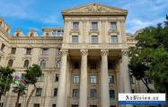 Azerbaijani MFA: Armenia's military-political leadership fully responsible for bloody crime at border