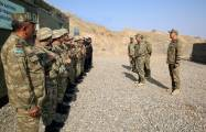 Azerbaijani prosecutor general and military prosecutor visit military units on frontline