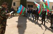 Mobilization of the military duty persons continues in Azerbaijan -  PHOTOS