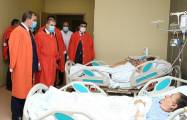 Consul General of Turkey visited injured civilians in Ganja