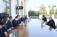 President Ilham Aliyev receives Turkish parliament speaker - UPDATED|VIDEO