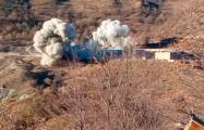 Armenians blow up military unit in Kalbajar -   VIDEO