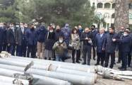 Foreign diplomats witness Armenian war crimes in Tartar -  PHOTO