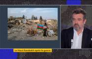 French journalist talks about his visit to Barda and Ganja, hit by Armenian ballistic missiles