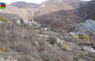 Azerbaijan MoD releases  video footage  of the Vang village of Kalbajar region