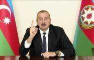 President Ilham Aliyev disclosed some details about Lachin corridor