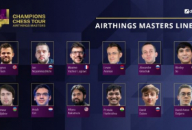 Teymur Rajabov to compete with Magnus Carlsen in first round of Airthings Masters