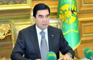 Turkmen leader calls deal with Azerbaijan 'historic event'