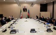 Meeting of Azerbaijani, Iranian FMs kicks off in Baku