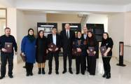 Azerbaijani President meets families of martyrs and war veterans - PHOTOS