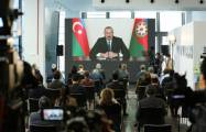 Reuters highlights Azerbaijani president's press conference