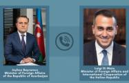 Azerbaijani and Italian FMs discuss Karabakh