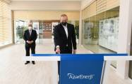 President Ilham Aliyev inaugurates newly renovated two substations - PHOTOS