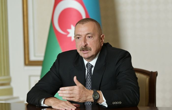 President Aliyev: Statements reeking of revanchism are very dangerous, first of all for Armenian