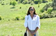 Mehriban Aliyeva shares images from Karabakh on her official Instagram account -  VIDEO